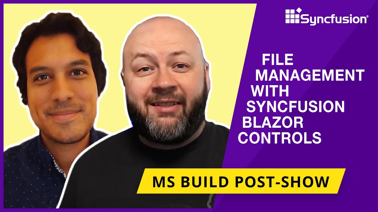 Quick Look at File Management With Syncfusion Blazor Controls