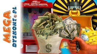 Coin Pusher • Automat na monety • Kto wygra najwięcej pieniędzy? • gry dla dzieci