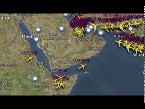 Qatar Airways new Routes via Somalia from June 2017