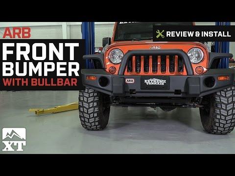 Jeep Wrangler ARB Front Bumper w/ Bullbar (2007-2017 JK) Review & Install