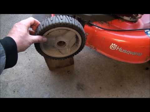 HOW TO FIX a Lawnmower FRONT DRIVE WHEELS - Craftsman, Husqvarna, Troy-bilt..etc