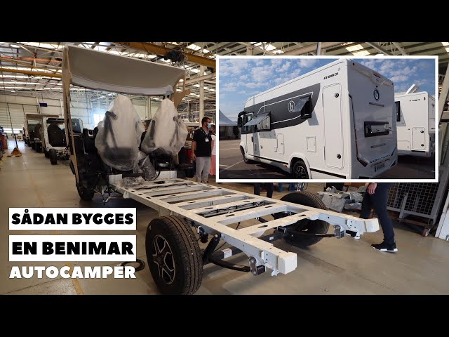 Sådan bygges en Benimar autocamper