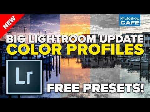 NEW Color profiles Lightroom + ACR. HUGE update (free presets)
