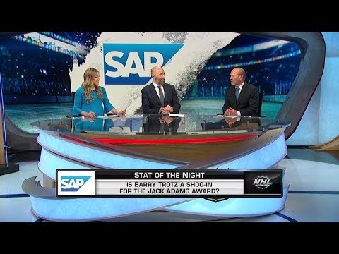 NHL Tonight:  Is Barry Trotz a shoo in for the Jack Adams Award?  Feb 15,  2019