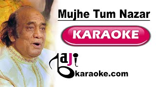 Mujhe tum nazar se gira to rahe ho - Video Karaoke - Mehdi Hassan - by Baji Karaoke