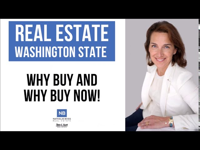 Why buy and why buy real estate now in Washington State [Sept. 2020]