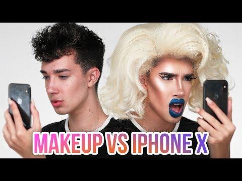 MAKEUP vs iPHONE X FACE ID