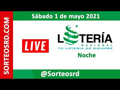 Lotería Nacional  En VIVO │  Sábado 1 De Mayo 2021 – 7:30 P.M.