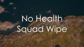Xbox PUBG Highlight | 4-Player Squad Wipe While At No Health