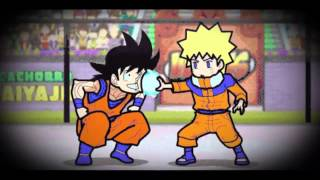 Goku VS Naruto: here is the answer!
