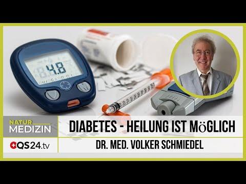 Diabetes - Heilung ist möglich | Dr. med. Volker Schmiedel | QS24 04.03.2020