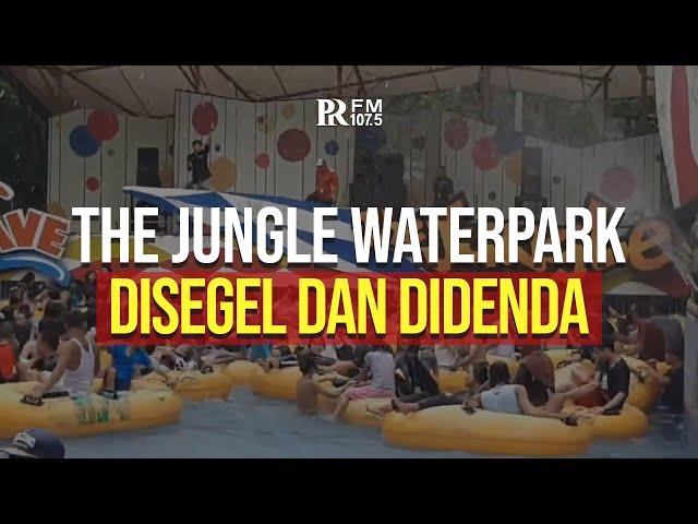 Terjadi Kerumunan, The Jungle Waterpark Bogor Didenda dan Disegel Selama Tiga Hari