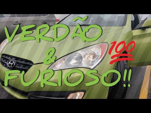 """BARATINHO PARA UM DRIFT!! 2010 """"HYUNDAI GENESIS"""" 3.8L V6 24V 306 HP. PREÇO USADO NOS ESTADOS UNIDOS."""