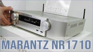 Marantz NR1710 - 7.2 Kanal (Slim) AV-Receiver