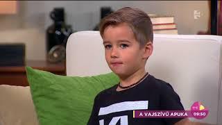 Édes: Szécsi Zoltán kisfia igazi rocker, ninja és vízilabdázó - tv2.hu/fem3cafe
