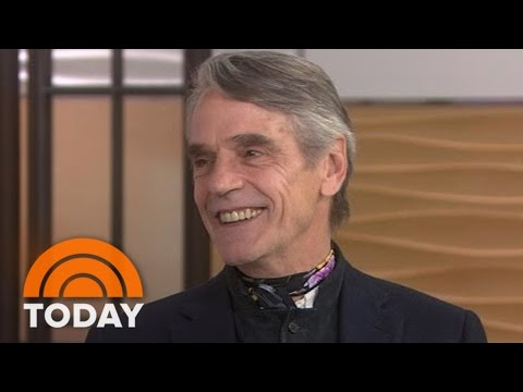 Jeremy Irons On His New Film 'The Man Who Knew Infinity' | TODAY