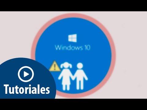 Cómo activar Control parental en Windows 10