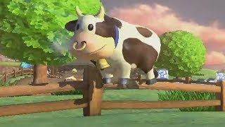 Mario Kart 8 Deluxe Cow On The Fence!