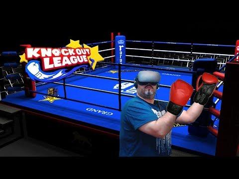 knockout League - El boxeo VR no duele tanto