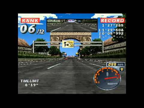 Mark Plays... Rage Racer (レイジレーサー) (PSone)
