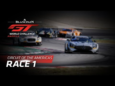 RACE 1 - COTA - Blancpain GT World Challenge America - LIVE
