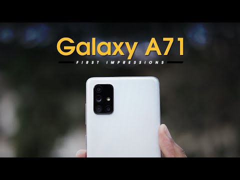 Samsung Galaxy A71 Unboxing and First Impressions!