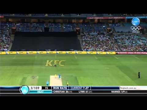 Sydney Thunder v Brisbane Heat Match Highlights