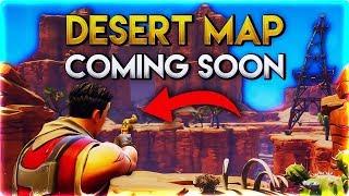 """Fortnite Battle Royale - Season 5 Leaked DESERT Map! """"NOT CLICKBAIT"""""""