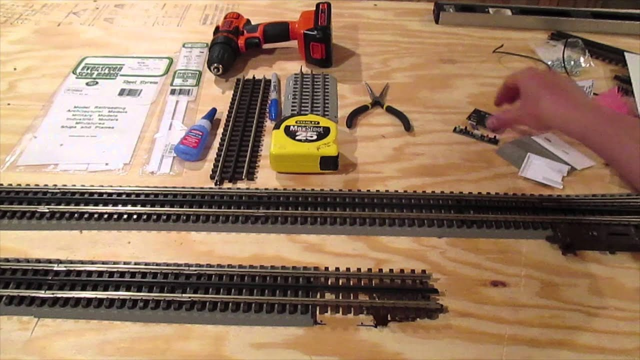 Atlas 3 Rail Track Wiring Diagram Model Trains Railroad Train Turntable Converting Lcs Sensortrack To O Youtube