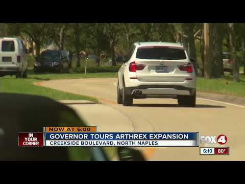 Governor Tours Arthrex Expansion