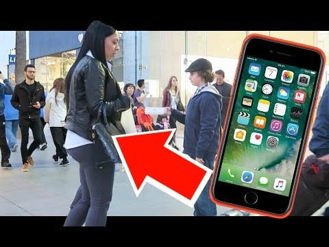 GIVING AWAY FREE iPHONE PRANK!