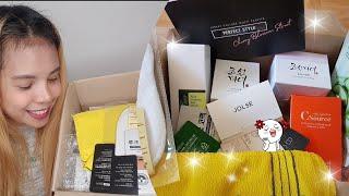 UNBOXING BOX Korean skincare from JOLSE kbeauty
