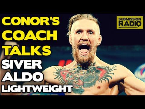 John Kavanagh: Conor McGregor vs. Dennis Siver, Jose Aldo, being 1st BJJ black belt in Ireland