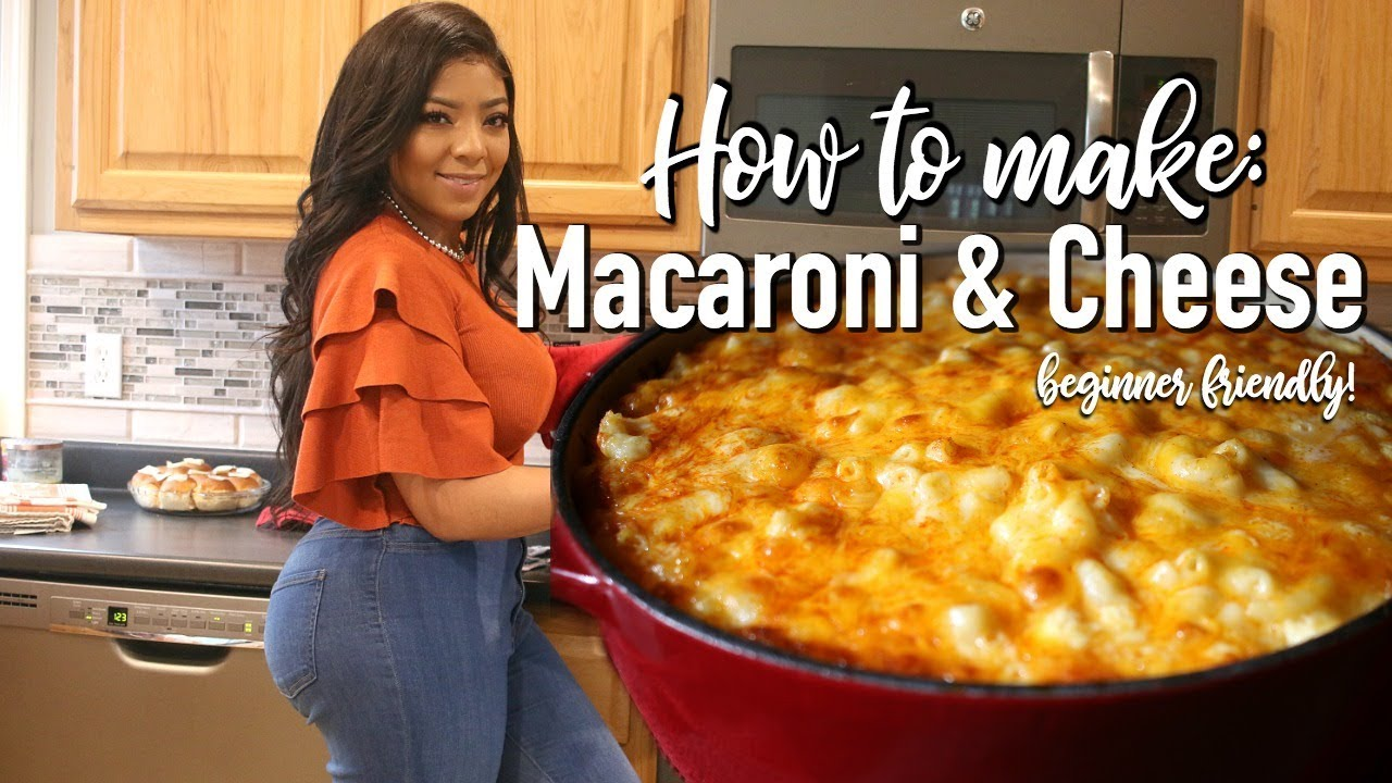 HOW TO MAKE MACARONI AND CHEESE (BEGINNER FRIENDLY)