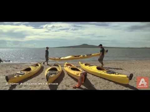 Sunset Sea Kayak tour to Rangitoto Island, Auckland NZ