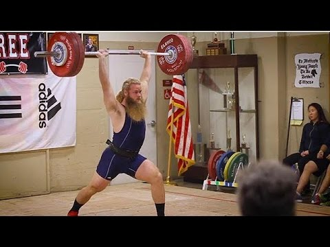 Alan Thrall's First Olympic Weightlifting Meet