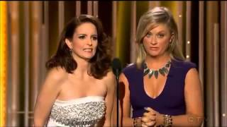 Tina Fey & Amy Poehler Play Who'd You Rather at Golden Globes 2015