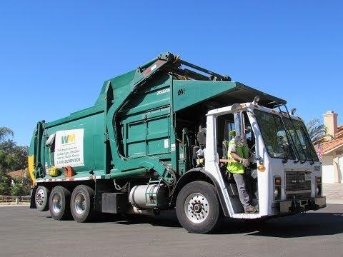 Waste Management Garbage Trucks Of San Go