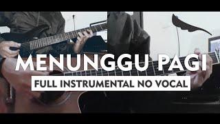 Peterpan   Menunggu Pagi (Full Band Instrumental) Part Guitar Lengkap + Melodi Detail