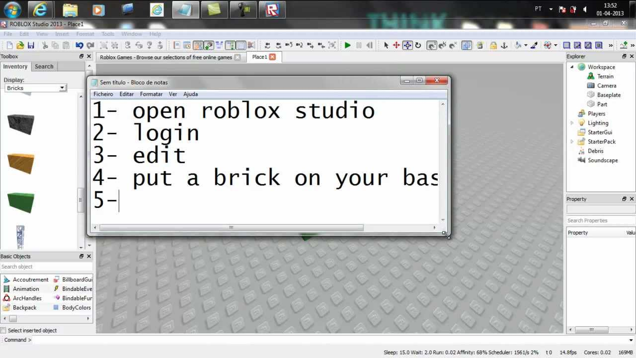 Roblox How To Make A Color Changing Brick Youtube