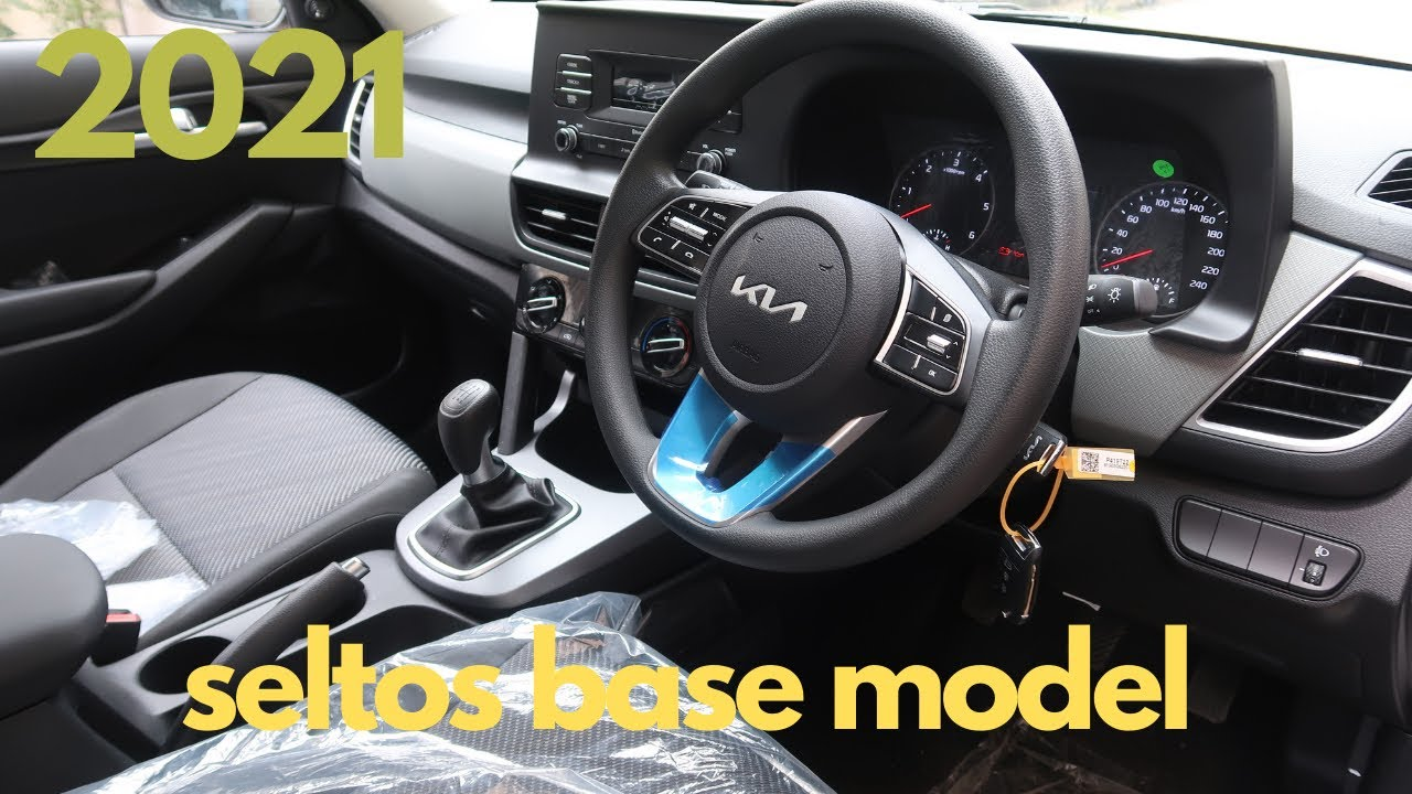2021 Kia Seltos HTE - 🔥THE MOST DESIRED BASE MODEL🔥 - SELTOS BASE MODEL -  detailed review !!