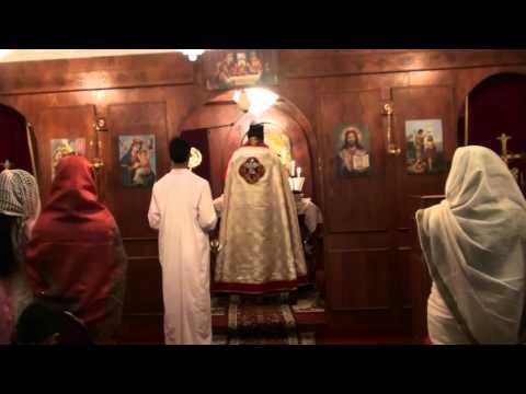 Easter Service, St Marys Jacobite Syriac Orthodox Church, Edmonton, Canada