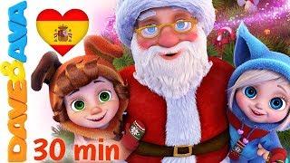 🎅 Santa | Colección de Villancicos y Canciones de Navidad de Dave y Ava🎉