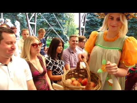 """Молодёжный парламент на праздновании """"Яблочного Спаса"""" (Брянская область, город Почеп)"""