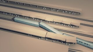 France train crash: Loose rail connector to blame