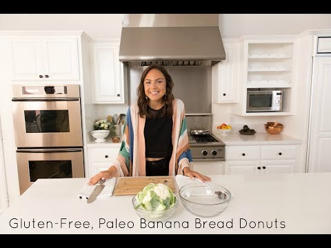 Gluten Free, Paleo Banana Bread Donuts | COOK WITH NOBREAD