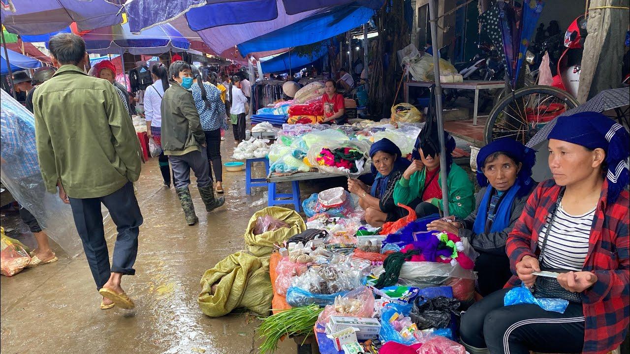 Khám Phá Phiên Chợ Mường Hum Bát Xát LÀO CAI | Miền núi tây bắc