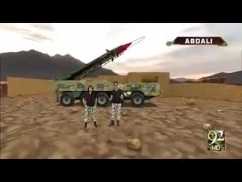 Pakistan Missile Technology-2016