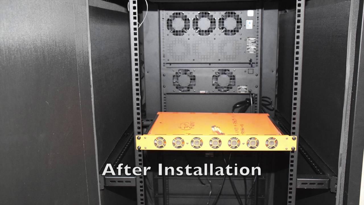 server cabinet soundproofing