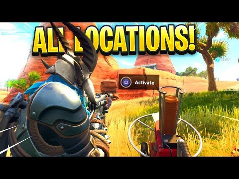 """Fortnite Shoot A Clay Pigeon in Different locations ALL LOCATIONS in Fortnite"